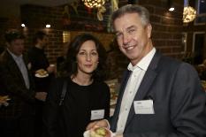 Rapidus Frukost Svenskt Näringslivs vd Carola Lemne