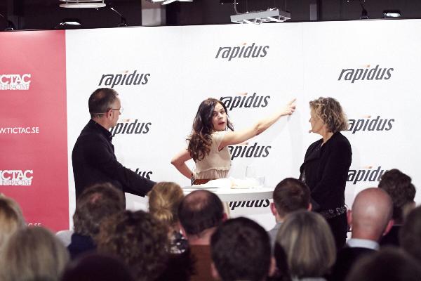 Rapidus Efter jobbet med Lotta Lundgren och Anna Serner!